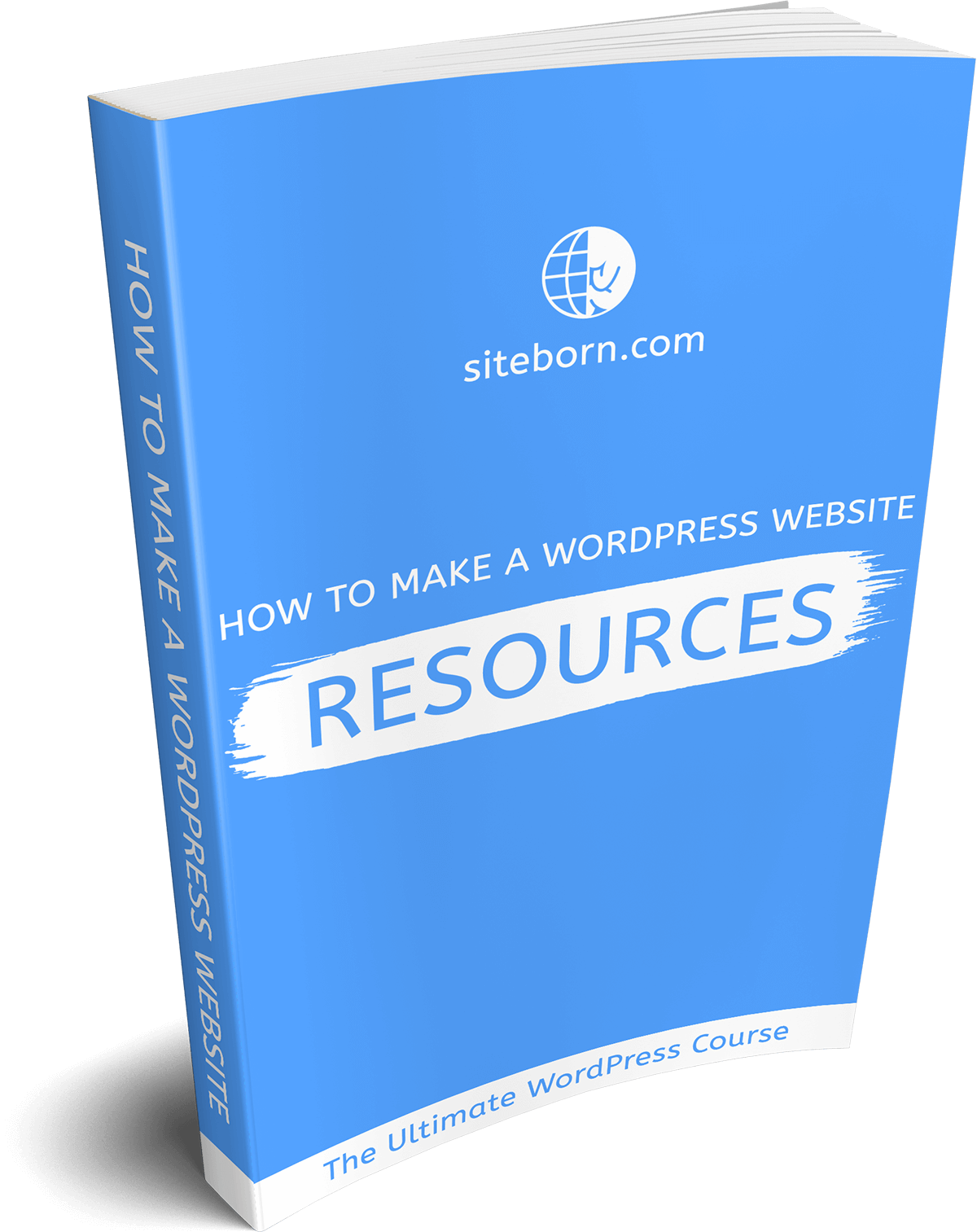 How to make a WordPress website resources