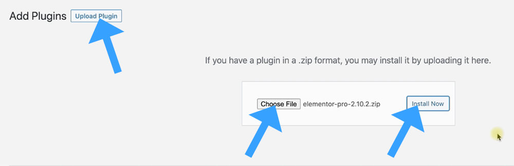 Upload a plugin to WordPress