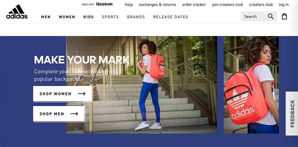 Web fundamentals adidas example