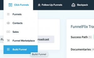 Build a new funnel