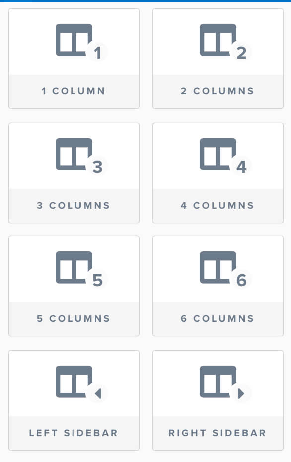 Choose number of columns
