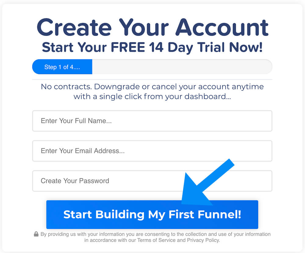 Create clickfunnels free trial