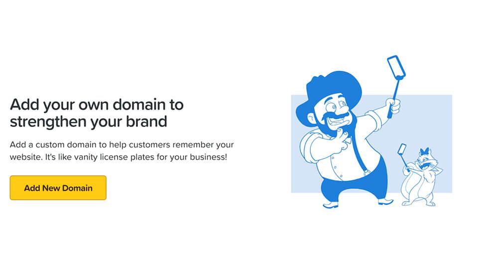 Domains tab