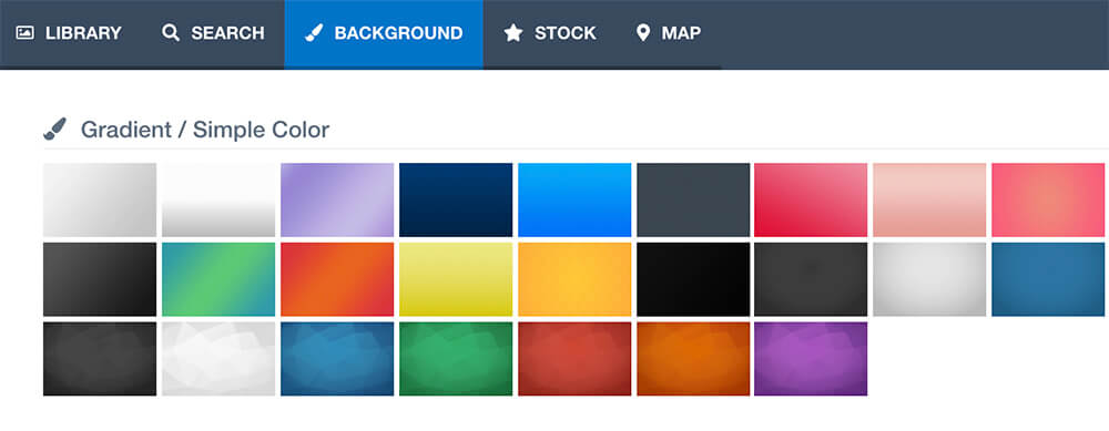 Gradient background color