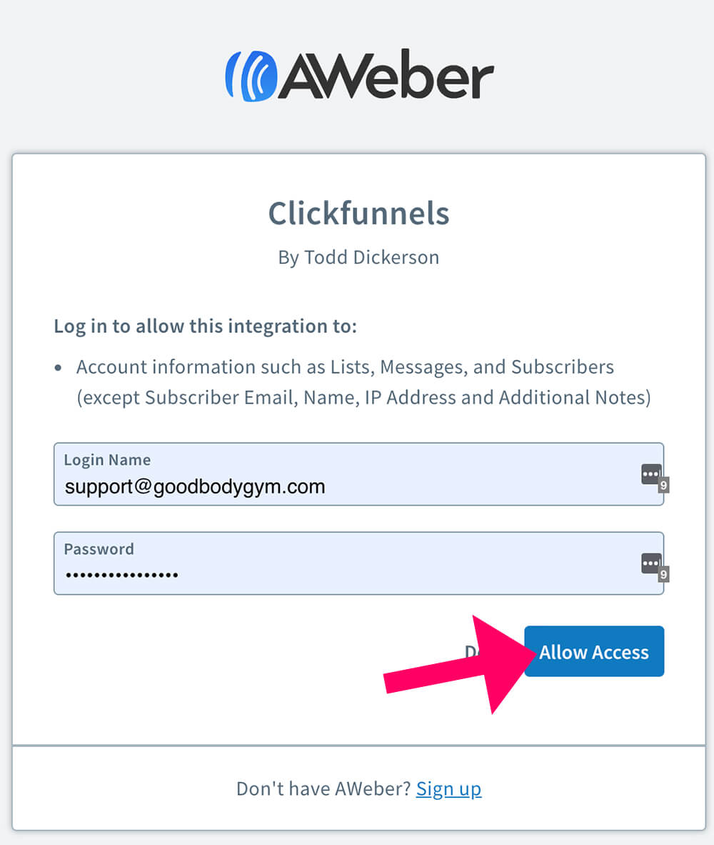 Integrate clickfunnels with apps